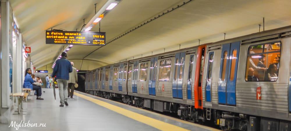 Транспорт Лиссабона - метро