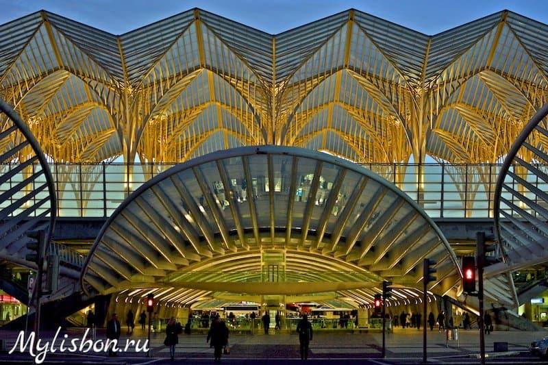 Вокзал Ориент в Лиссабоне