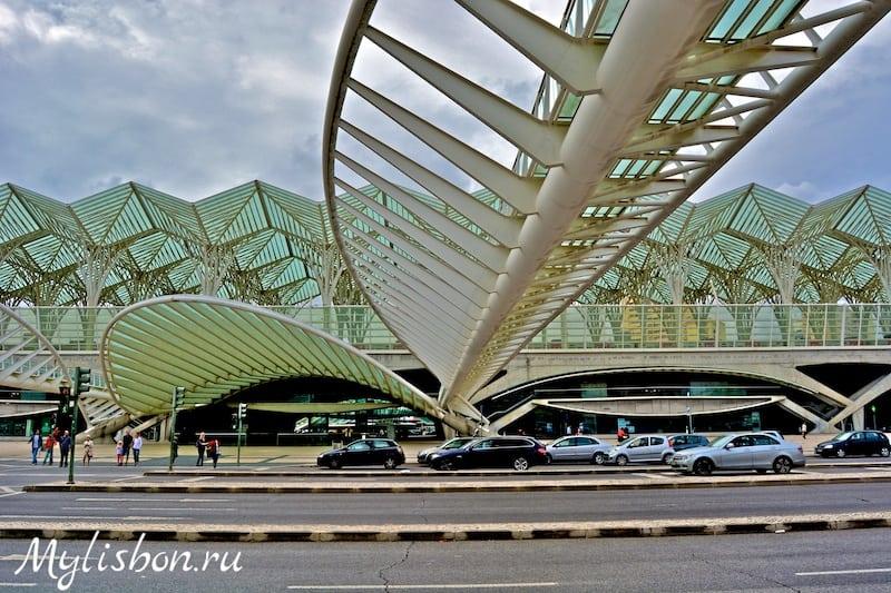 21.11.2014 — Вокзал Ориенте самый впечатляющий в мире