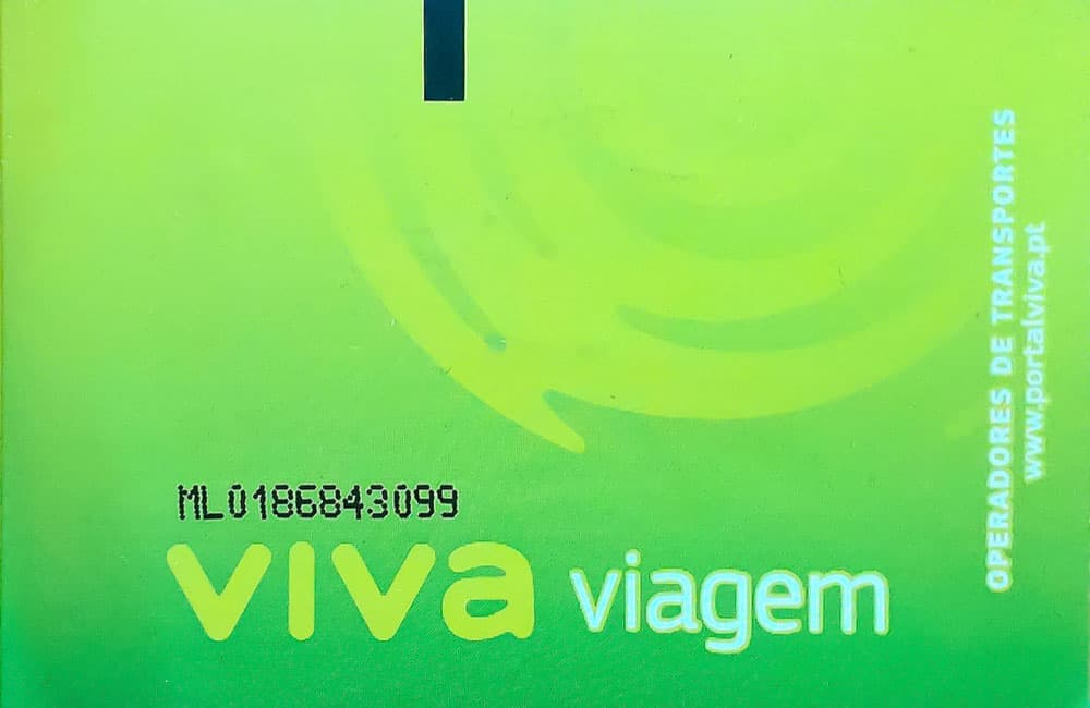 Транспорт в Лиссабоне (транспортная карта Viva Viagem)