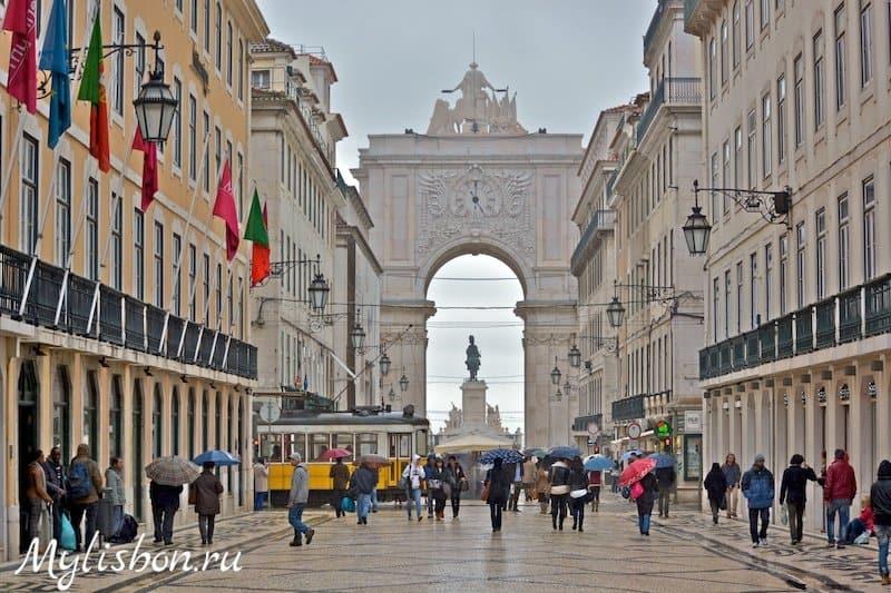 10.09.2014 — Конец лета в Лиссабоне выдался дождливым