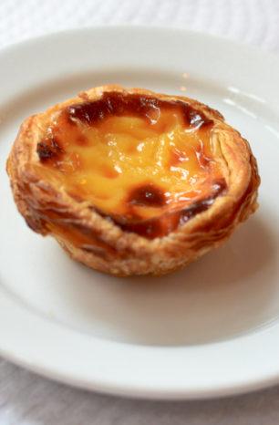 Пирожное Паштел де Ната (Pastel de Nata)