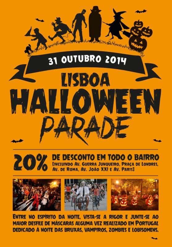 Хэллоуин парад в Лиссабоне пройдет 31 октября 2014