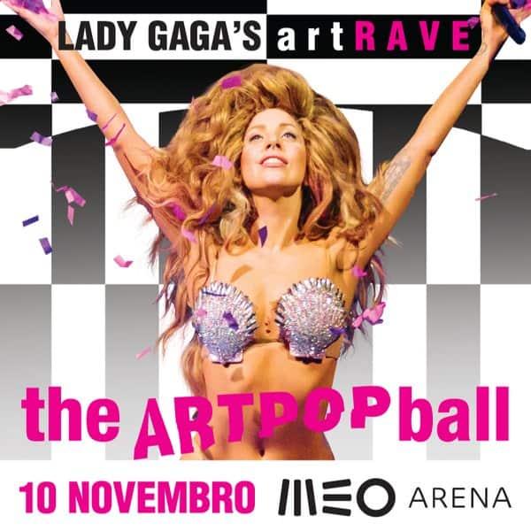 Lady Gaga MEO Arena 2014