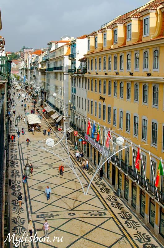 Лиссабонская улица самая красивая в мире