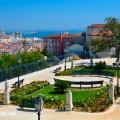 Смотровая Площадка Сан Педру Алкантара в Лиссабоне