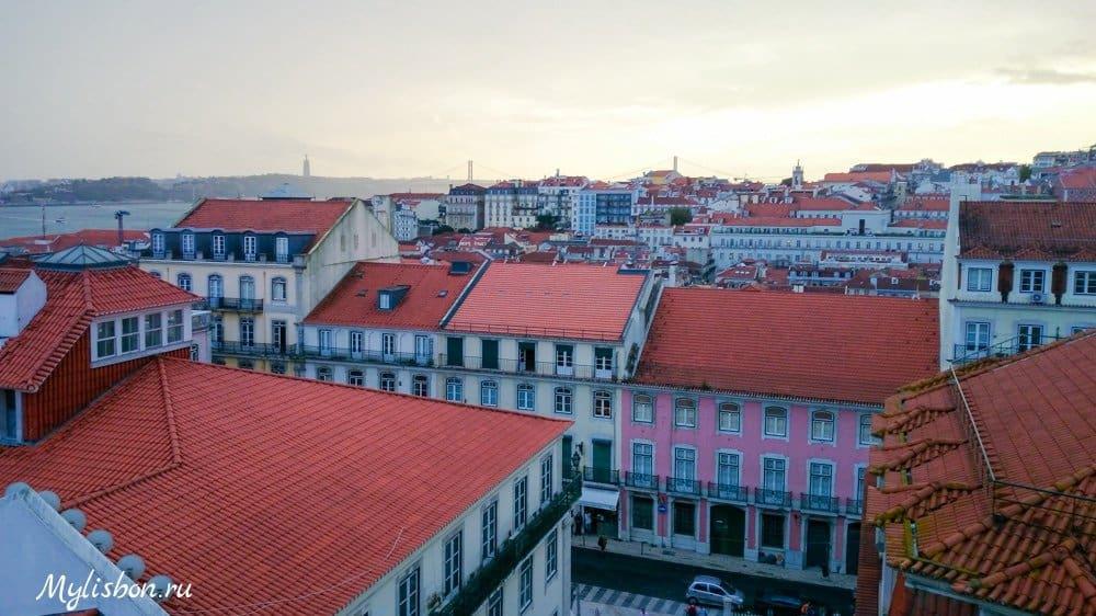 Miradouro de Loureiro - смотровая площадка в Лиссабоне