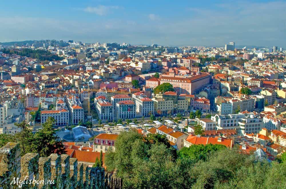 Замок святого Георгия в Лиссабоне