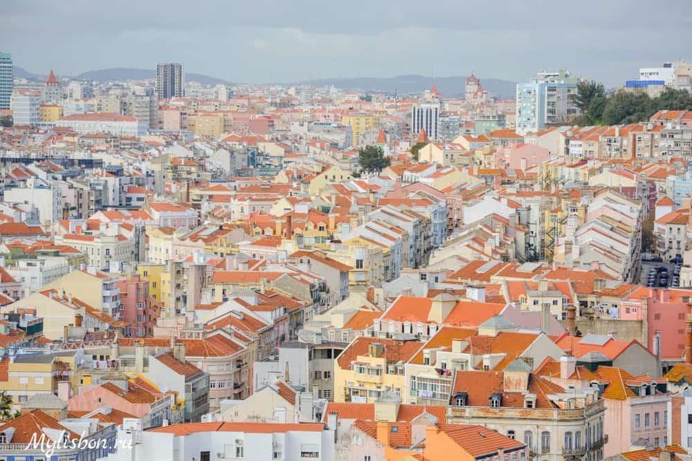 Мирадоуру сеньоры ду Монте в Лиссабоне
