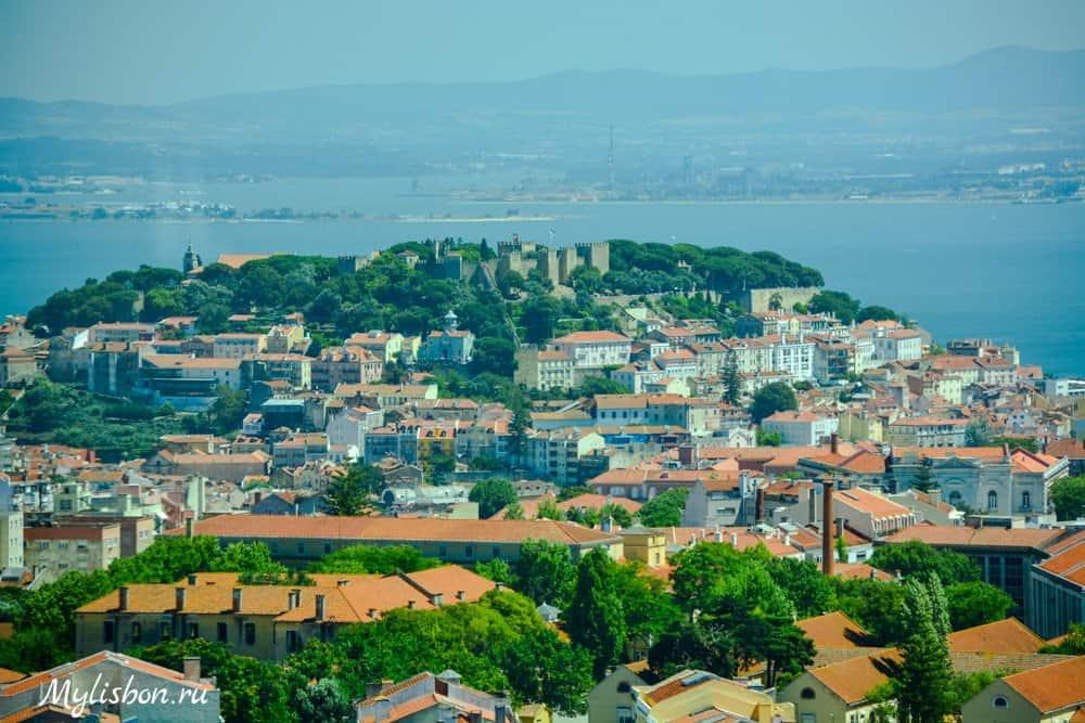 Смотровые площадки Лиссабона - Шератон