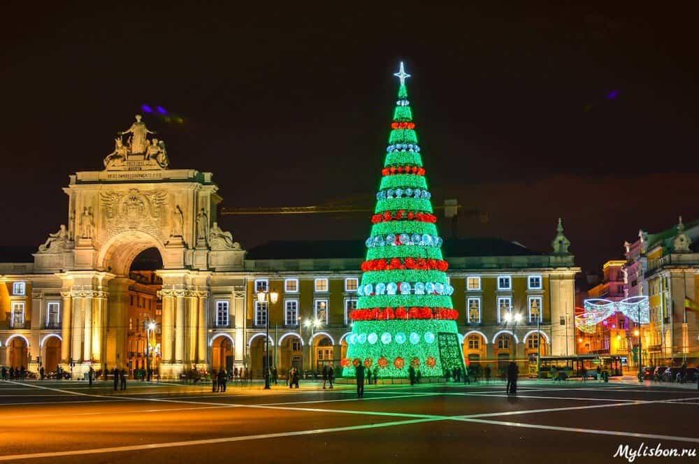 Новый год 2016 в Лиссабоне