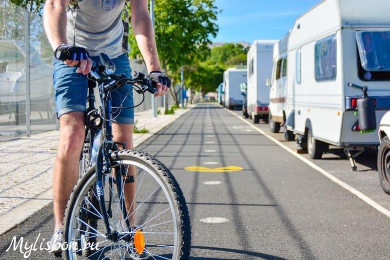 велосипед в Лиссабоне