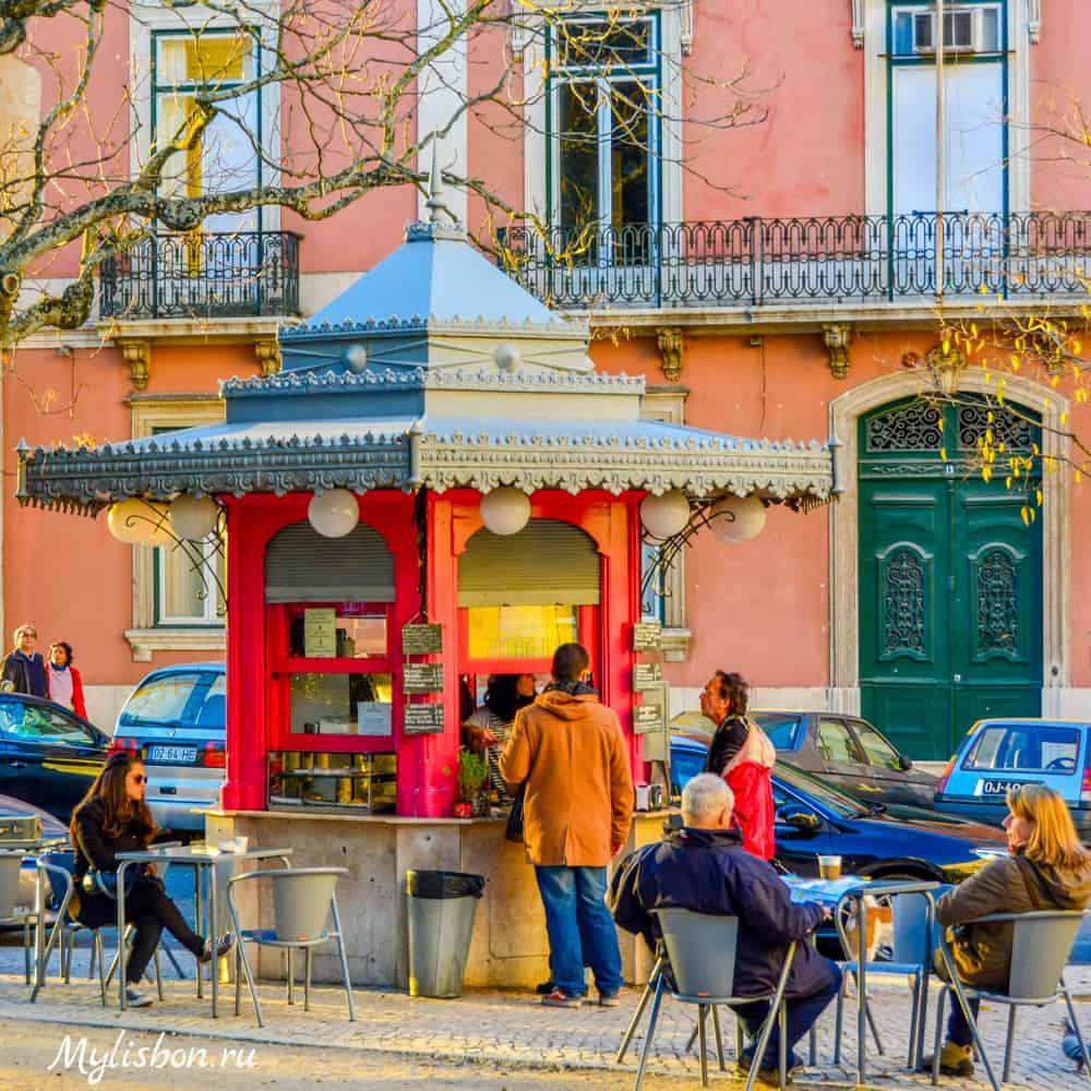 Киоски в Лиссабоне