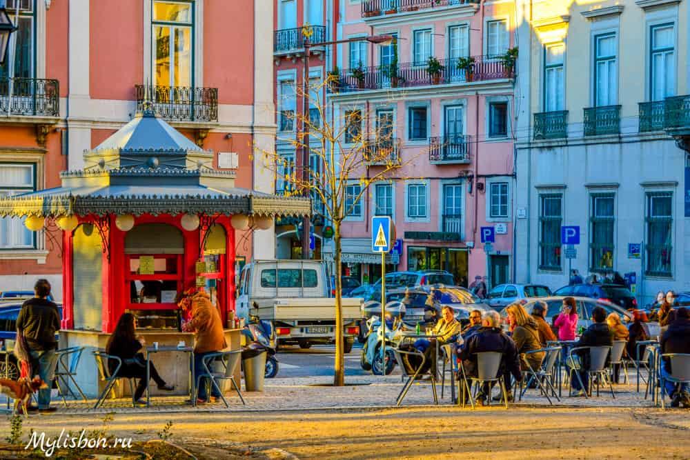 Киоск в Лиссабоне