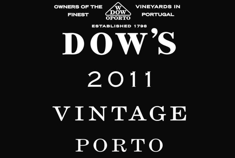Dow's Vintage Porto 2011