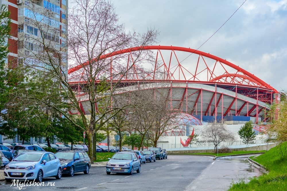Стадион Бенфики в Лиссабоне