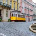 Трамваи в Лиссабоне №28
