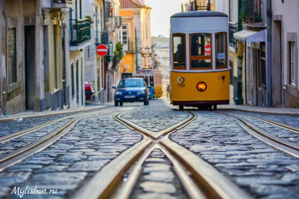 Фуникулеры в Лиссабоне