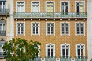 Фасады с Азулежу
