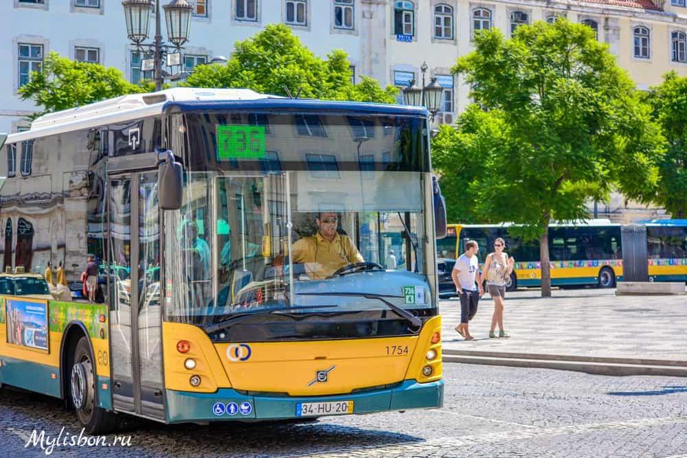 Автобусы в Лиссабоне