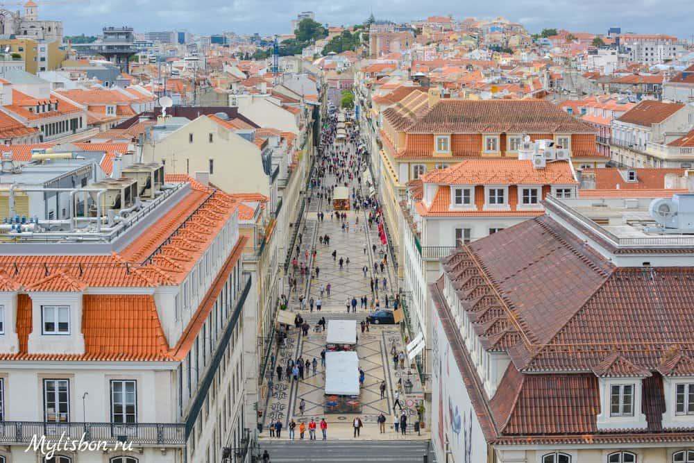 Район Байша в Лиссабоне