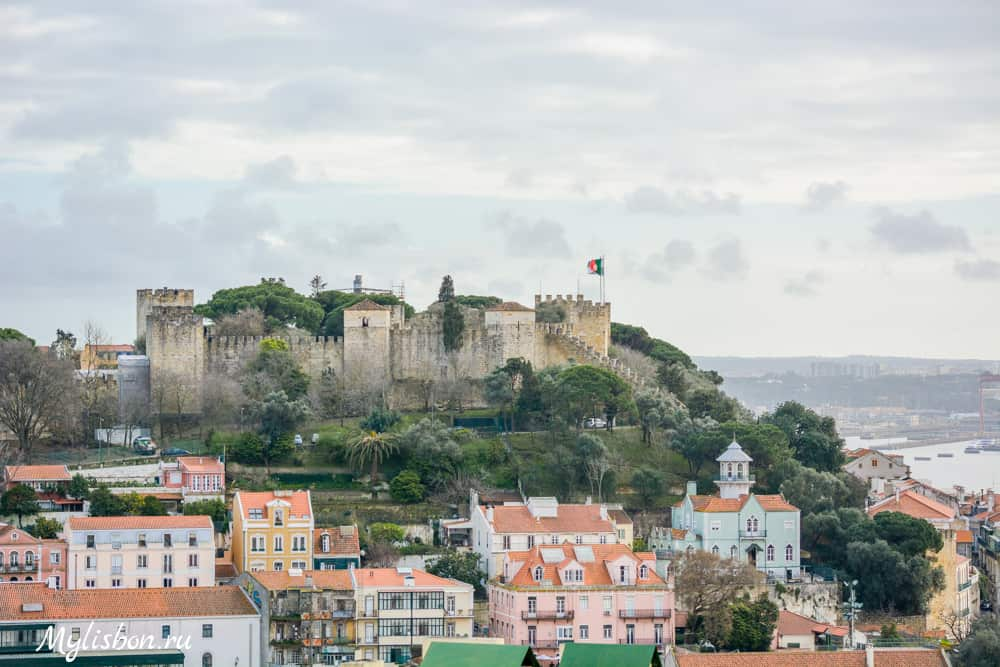 Замок святого Георгия - Лиссабон