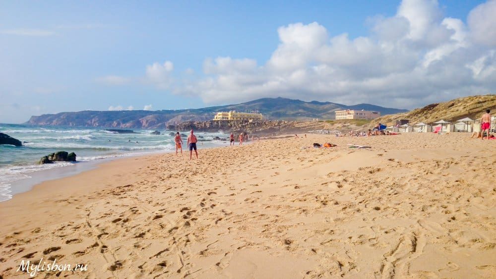 Пляжи Лиссабона - пляж Гиншу (Guincho)