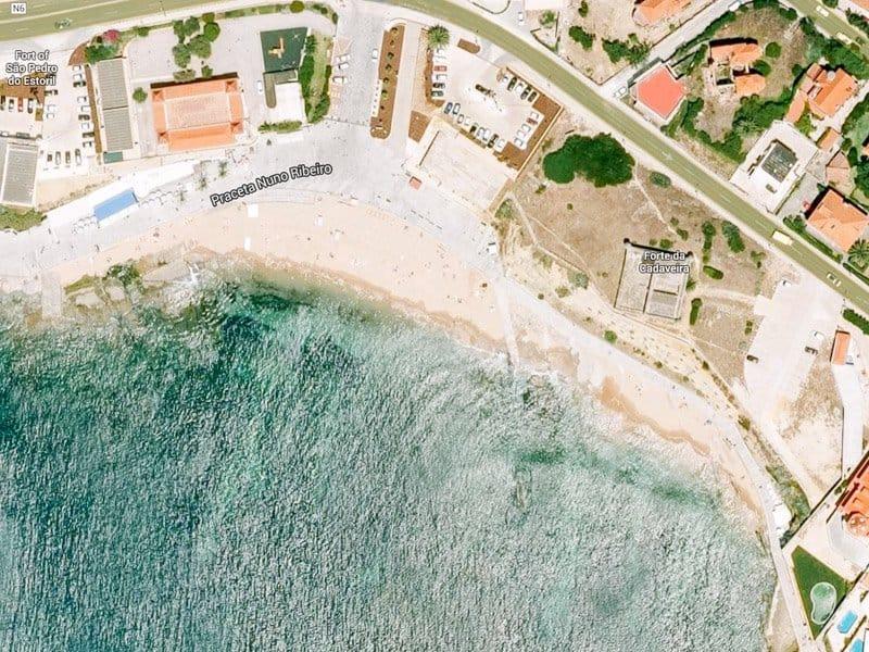 Пляжи Лиссабона - Praia da Poça