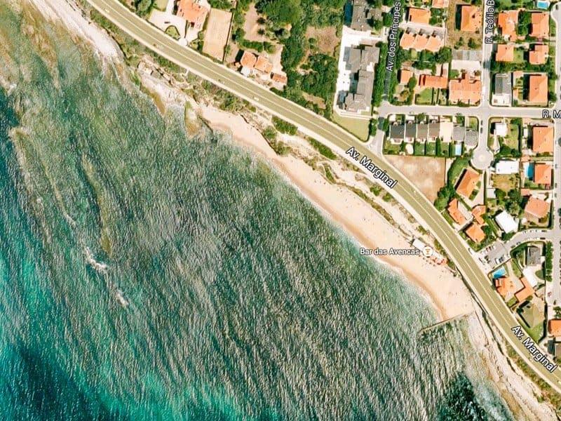 Пляжи Лиссабона - Praia das Avencas