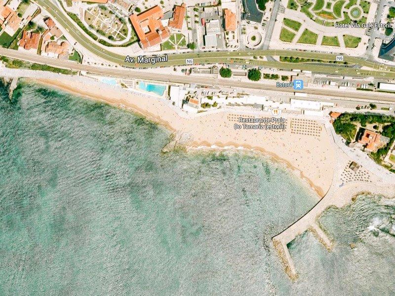 Пляжи Лиссабона - Praia do Tamariz