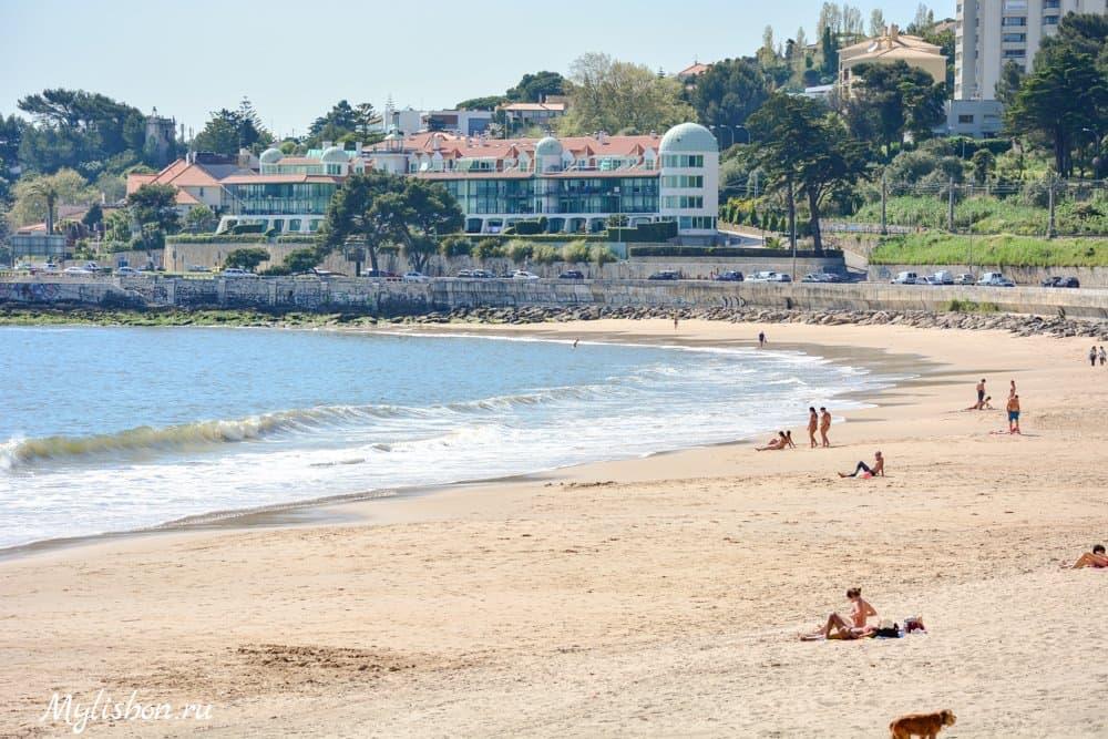 Пляжи Лиссабона - Кашиаш (Praia de Caxias)