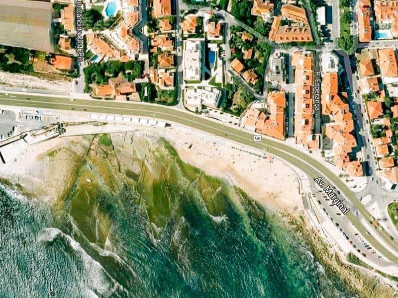 Пляжи Лиссабона - Praia de Parede