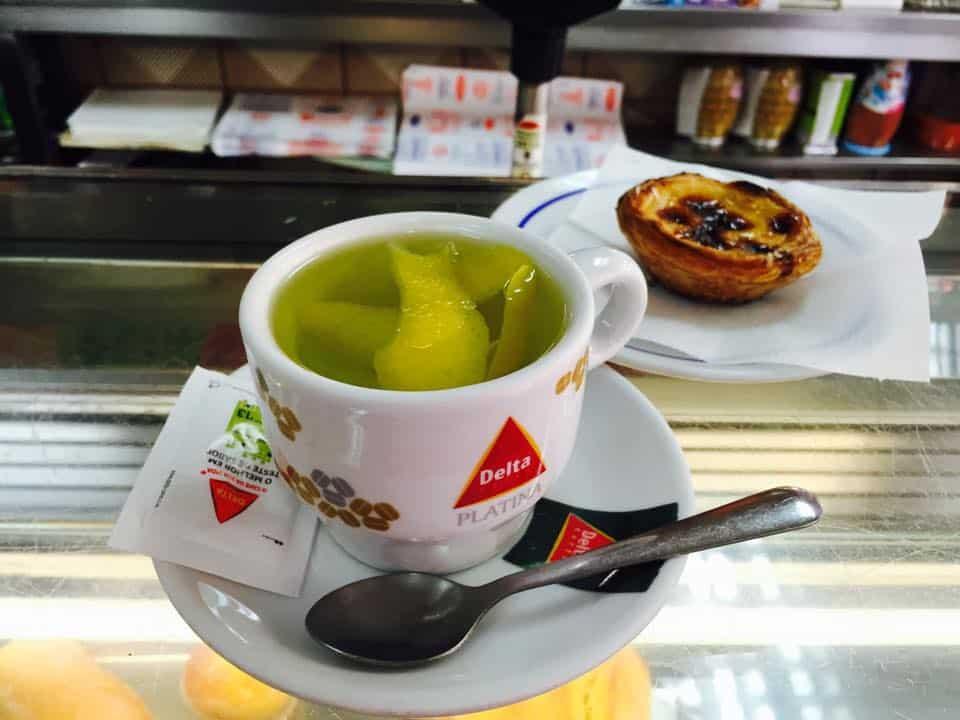 Чай в Лиссабоне - кариока де лимау