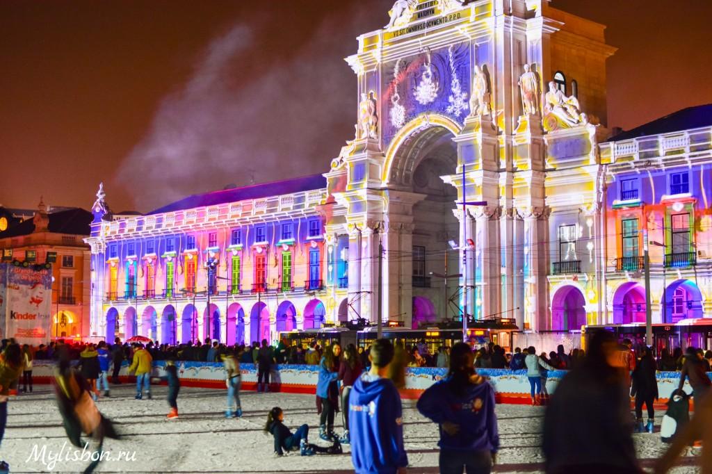 Каток в Лиссабоне