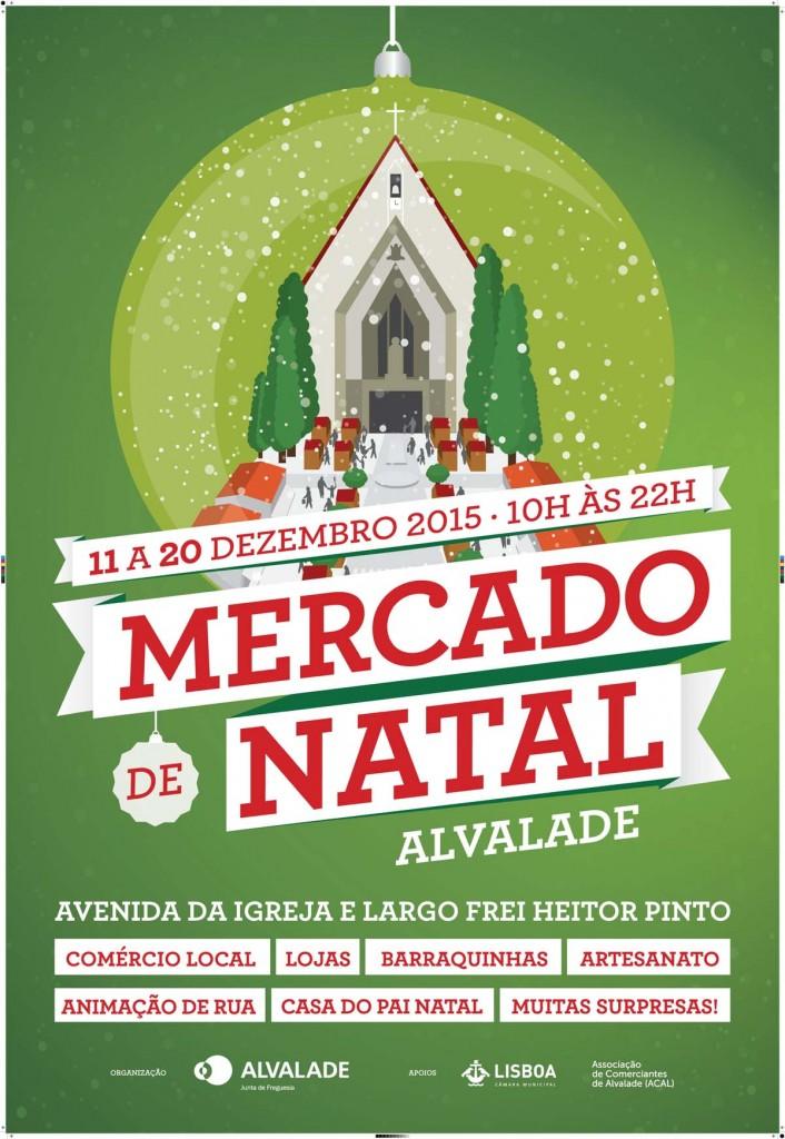 Mercado de Natal Alvalade 2015