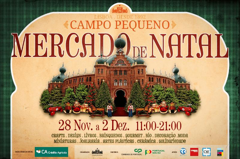 Mercado de Natal Campo Pequeno 2015