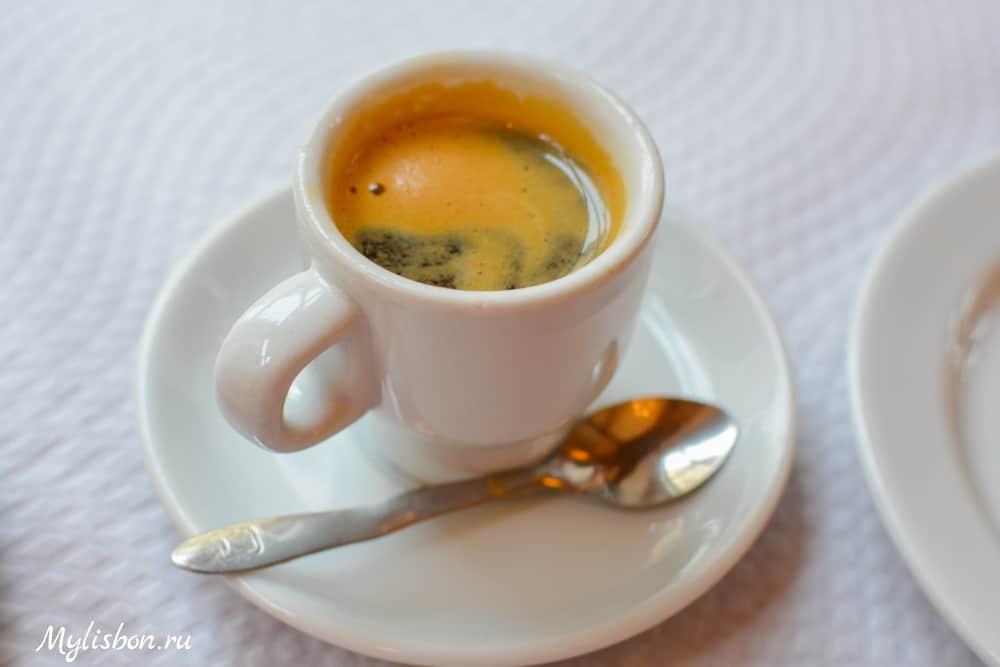 Кофе в Лиссабоне