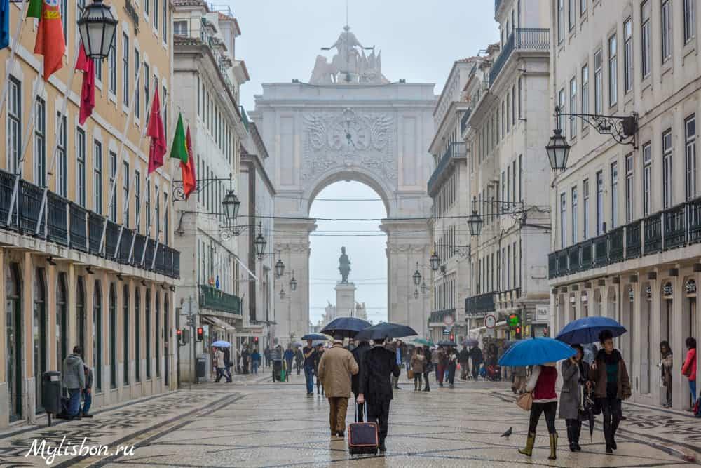 Климат Лиссабона