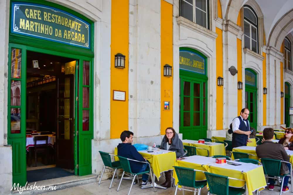 Рестораны в Лиссабоне