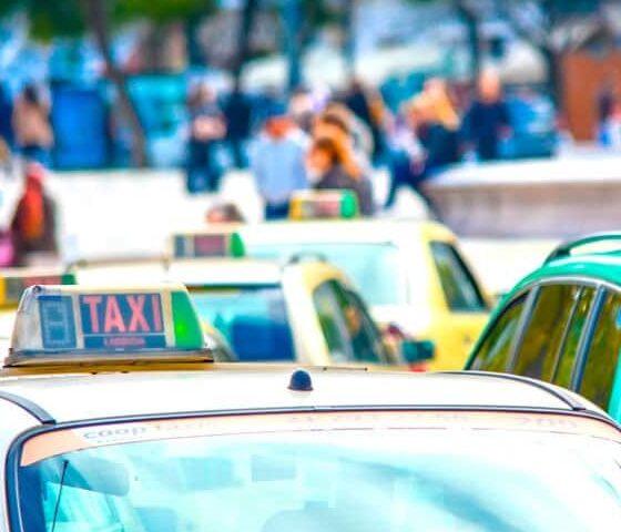 Такси в Лиссабоне