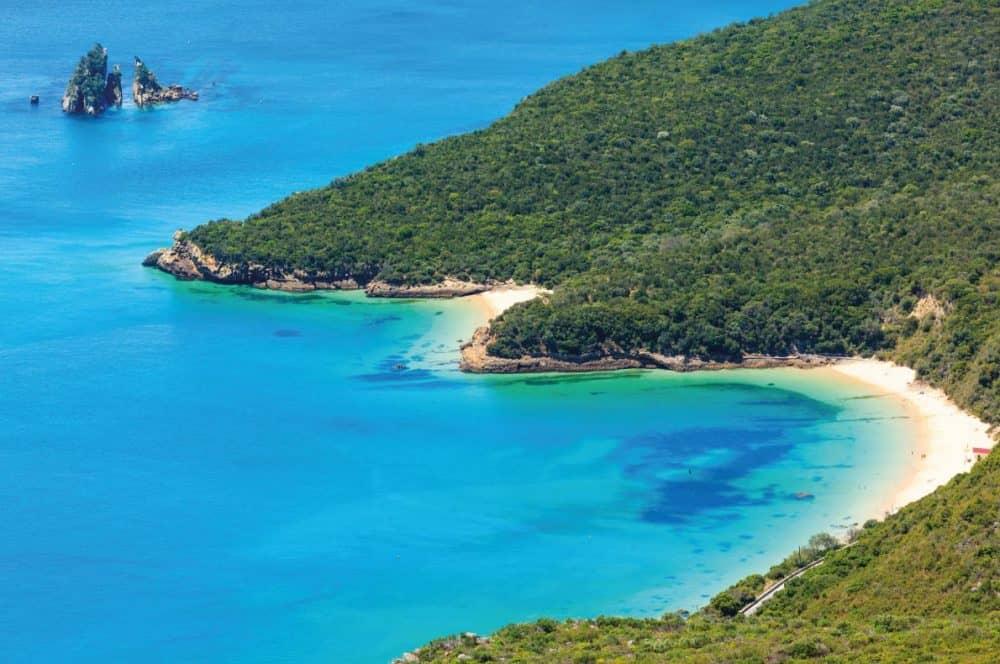 Серра да Аррабида - лучшие пляжи в Европе