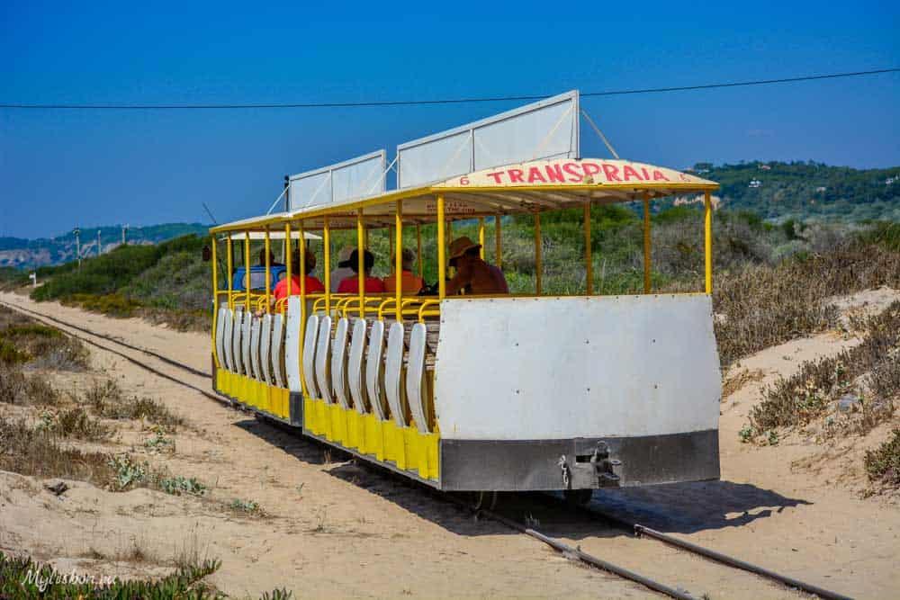 Мини поезд Кошта Капарика