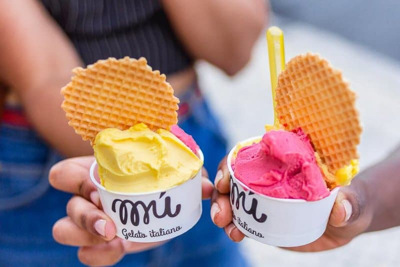 Мороженое в Лиссабоне Gelato Mú