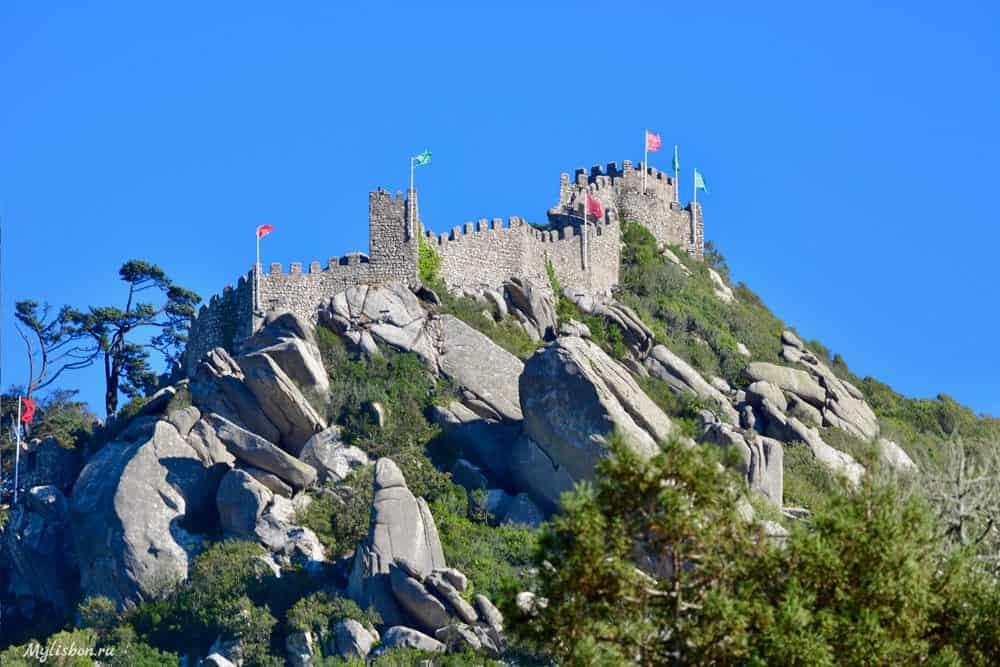 Что посмотреть в Синтре - Замок Мавров