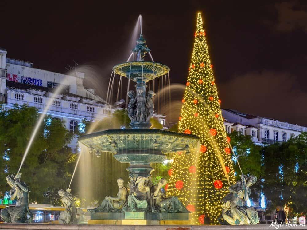 Новый год и Рождество в Лиссабоне