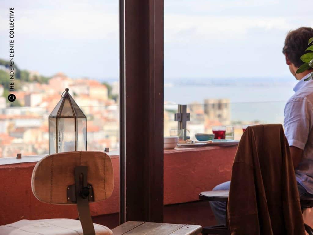 Бары и рестораны с видом в Лиссабоне