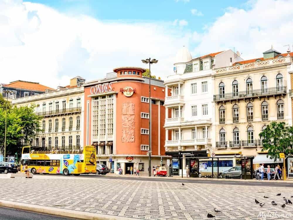 Авенида Либердад в Лиссабоне