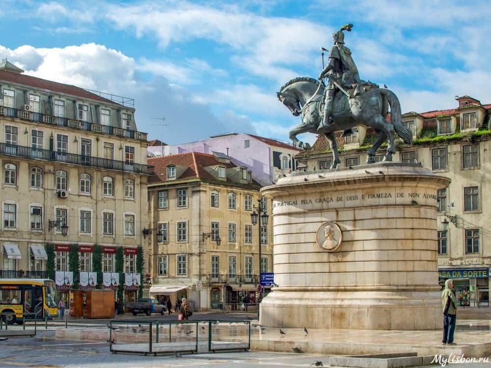 Площадь Фигейра в Лиссабоне