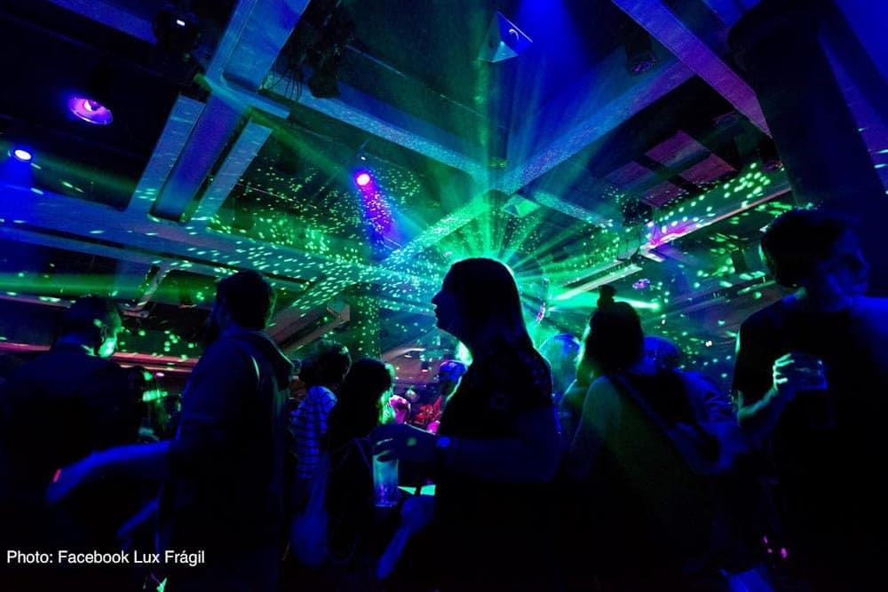 Ночные клубы в Лиссабоне Lux Frágil