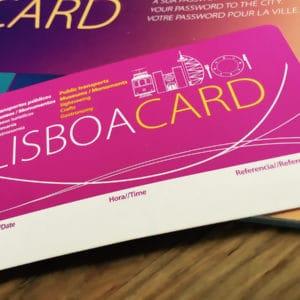 Туристическая карта Lisboa Card